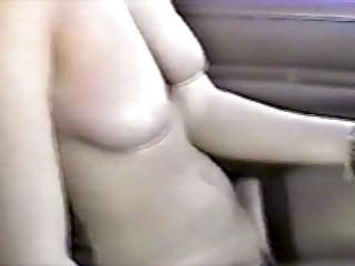 Trina Flashes Truckers On Public Highway