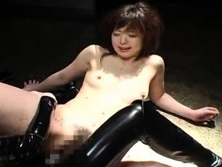 Skinny Bitch Has A Bdsm Session And A Toy Fuck (2)