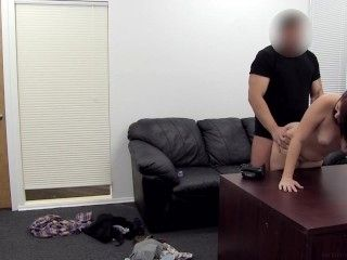 Tessa Backroom Casting Couch - Full length