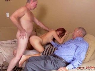 Old Doctor Young Teen And Old Woman Pee And Old Man Swallow And Old Guy
