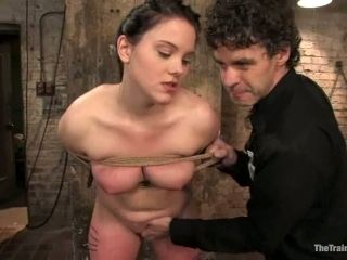 Tortured Pussy Getting Toyed and Fingered in BDSM Video