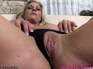 Sindy Lange gives a blowjob and a titjob to some lewd man