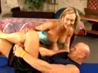 Sexy Blonde Brandi Love Fucked By Horny Dude
