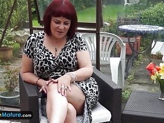 EuropeMaturE Grandma Seductive Solo Compilation (8)