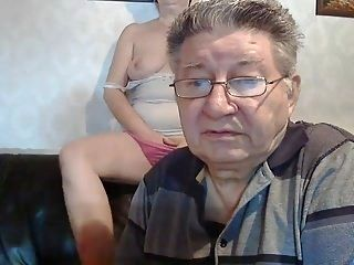 Older Couple On Webcam (2)