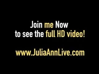 Double BJ & Cum with Hot Mommy Julia Ann & Jessica Jaymes! (3)