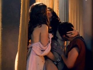 Spartacus - Lucy Lawless and Jaime Murray