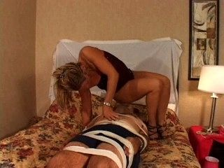 Face Farting Blonde
