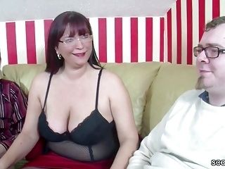 German Step-Mom Teach two Young Boys How to Fuck Right (2)