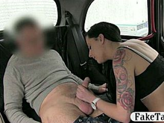 Slutty Customer Fucked By Fake Driver For A Free Fare