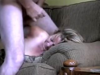 Bulky Wife Crammed In The Chair
