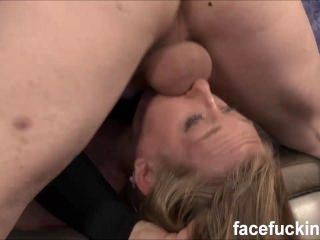 Skye Avery 3rd time doing the nastier facefucking and some anal