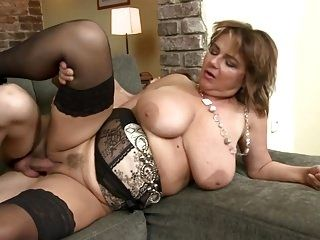 Mature Busty Mother Suck N Fuck Young Lucky Son