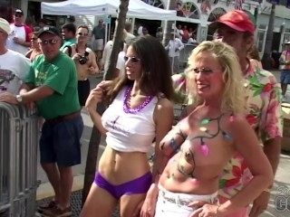 Home Video Walking Around Fantasy Fest Key West Florida Hot