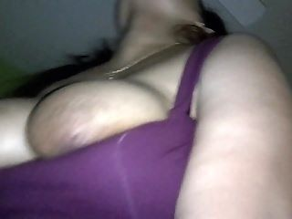 Big Natural Tits Wife Striptease Before Riding Cock