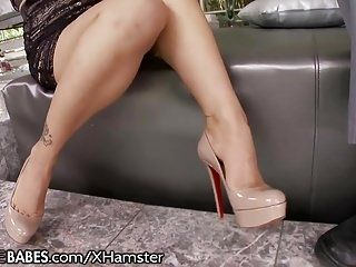 Fucking in leather flats