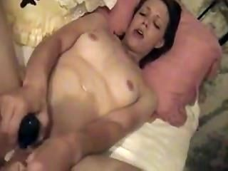 Amateur Wife Orgasms With A Big Vibe