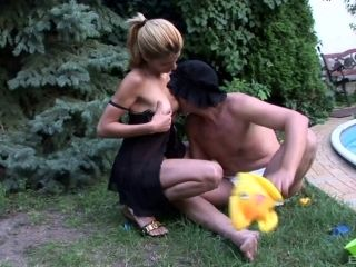 Diaper Wearing Gimp Gets His Ass Pegged By His Mistress (2)