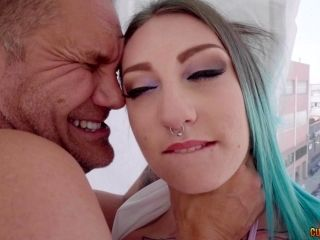 Tattooed babe Yuno Love is interested in a man's cock