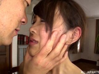 Ass sniffing Japanese dude needs to fuck her tight twat