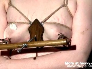 Nipple torture  Tit Torture and abuse