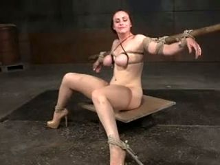 Slutty nympho Bella Rossi is enjoying every second of her BDSM session