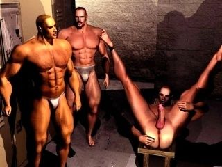 3D Muscle Boys Hot Sexual Fantasies! (4)