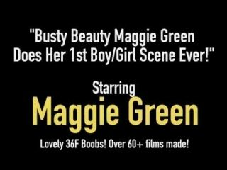 Busty Beauty Maggie Green Does Her 1st Boy/Girl Scene Ever! (2)