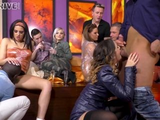 Zafira and Coco de Mal dressed in sexy clothes for a great group sex