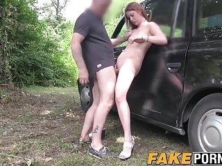 Sexy slutty babe Paris hammered hard by fake cab driver (3)