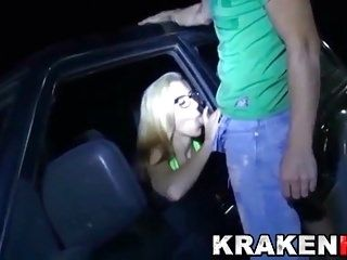 Krakenhot - Dogging with an amateur couple. Sex in public