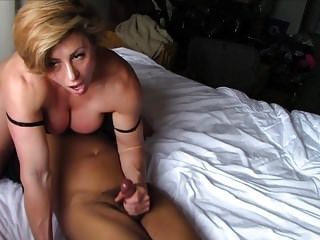 Dominant Muscular Ladies Are His Thing
