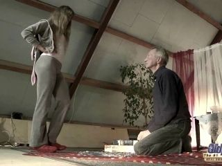 Very Old Man Fucks Very Young Girl And Cums On Tongue (4)