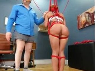 BDSM hardcore action with ropes and fluent sex (64)