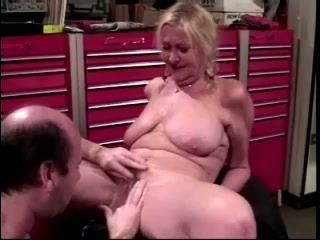 Nice Natural Tits On This Mature Amateur Who Is Getting Some Great Action For Her Pussy