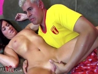 Blake Riley Loves To Deepthroat And Play With Big Vibrators