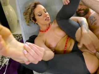 Milf With Saggy Tits Fucked Hard And Made To Swallow