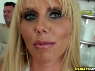Hungry Blond Is About To Fall Unconscious Form The Penetration