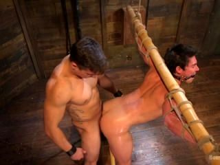 New muscular Dom is welcomed to the house