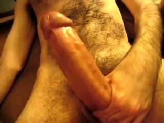 Hung ginger daddy Crotchonfire floods the fur of thick otter TallnhairyNYC