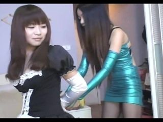 Chinese Girls Handcuffed And Arrested 4