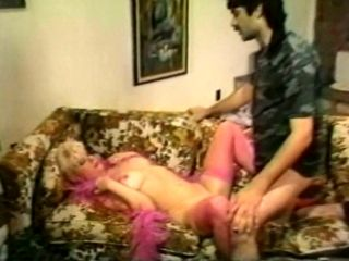 Hussy Blonde From The Golden Age Of Porn Gets Her Twat Rammed Mish Style