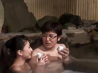 Jap Hot Spring-Mu Wife-Onsen