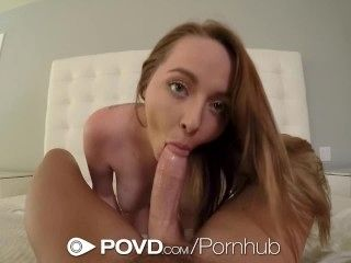 POVD Red head busty Leigh Rose POV fuck after shower (4)