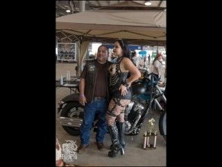 Lady Lace at the South Texas Biker Round Up