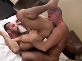 Silver Fox And His Fuck Buddy (2)