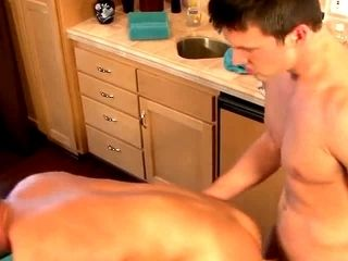 Muscly Stud Cummed On (4)
