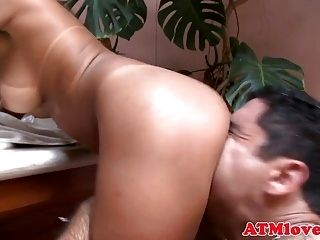 Threesome Loving Babes Enjoy Ass To Mouth  (2)