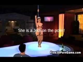 3D cartoon stripper sucks cock and gets fucked (3)