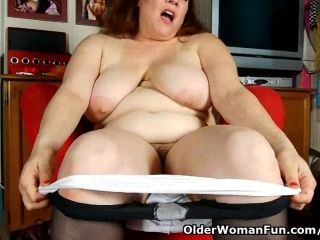 Black Nylons Give Mom The Highest Level Of Horniness (4)